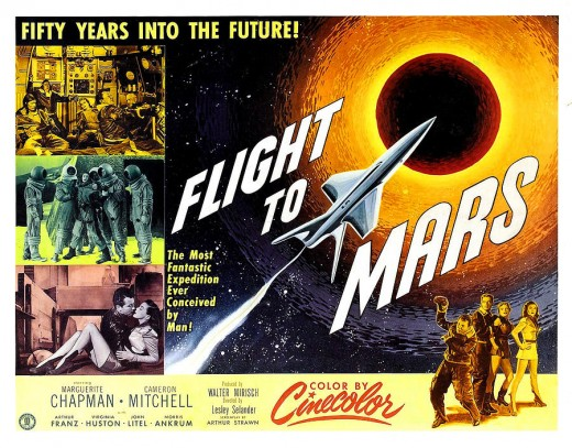 Flight to Mars - poster