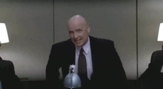 "Terry O'Quinn, the same guy who plays John Locke in Lost appears in episode 17 ""Q&A"" and interrogates our protagonist."