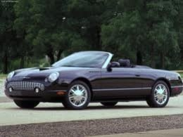 One of only 200 ever produced - Special Edition 2002 Ford Thunderbird