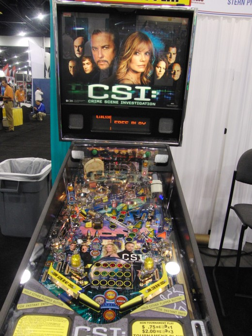CSI was one of Stern's new titles in 2009.  Look for awesome games like this at Tim Arnold's place.
