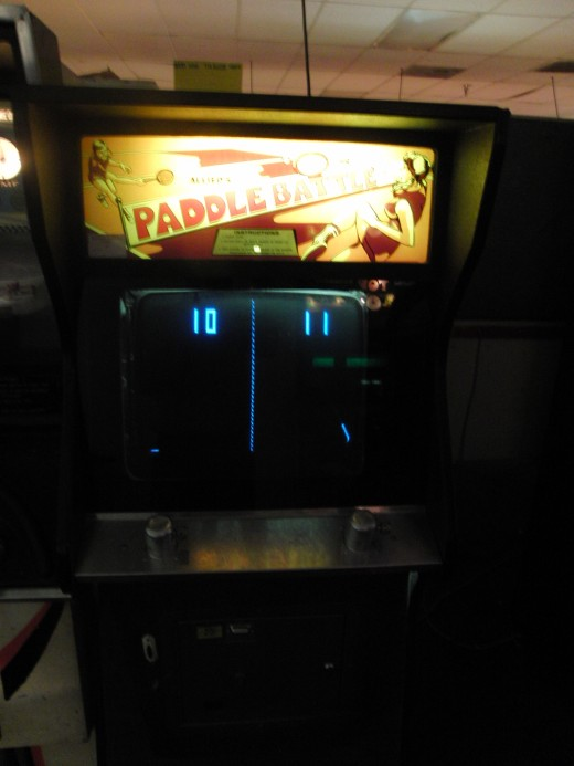 They didn't have an actual Pong, but they did have a Pong clone.