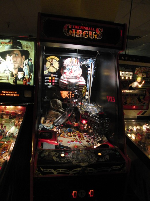 The Pinball Circus is one of those super-rare machines.  I absolutely sucked at it.