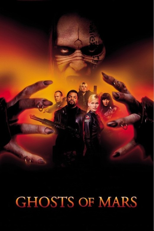 Ghosts of Mars - poster