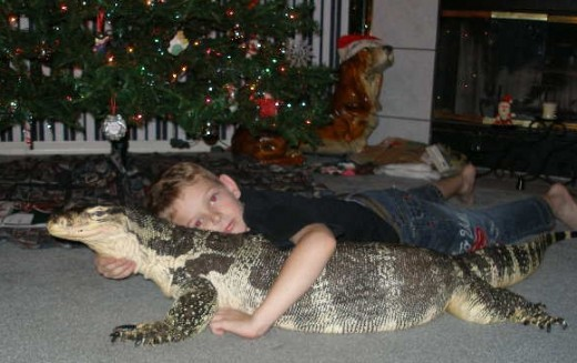 Who's to say reptile owners can't love their pets as freely as dog owners love theirs?