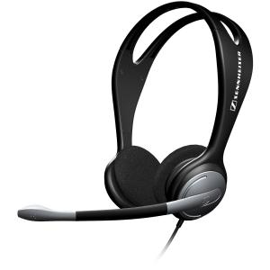 sennheiser makes a great headset for Skype