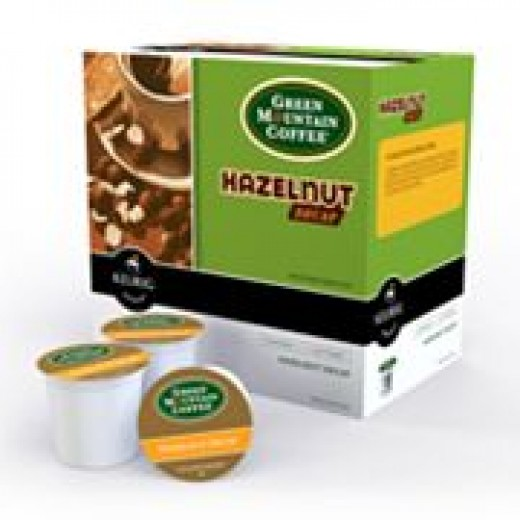 Box of Green Mountain Hazelnut K-Cups
