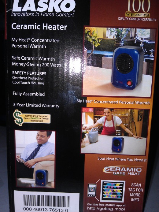 Review Of The Lasko My Heat Personal Heater   HubPages