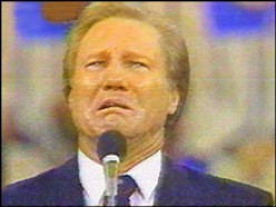 JIMMY SWAGGART CONFESSION - FAMOUS EVANGELICAL MINISTER TWICE CAUGHT WITH PROSTITUTES
