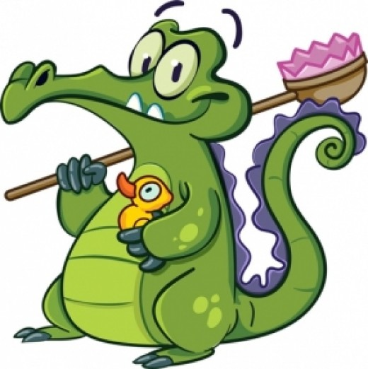 Swampy saw fame in the digital world, but will the fans be lining up to meet this squeaky clean gator in real life?