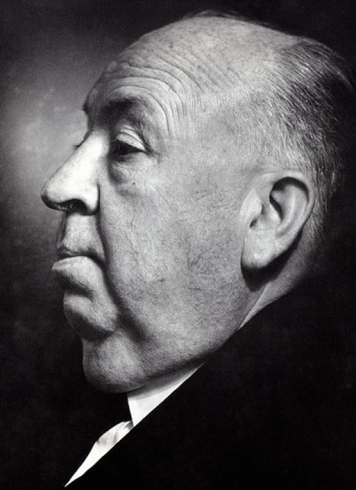 Alfred Hitchcock. Source: classic movie scans via flickr, CC BY 2.0