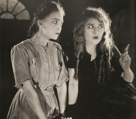 ZaSu Pitts and Mary Pickford