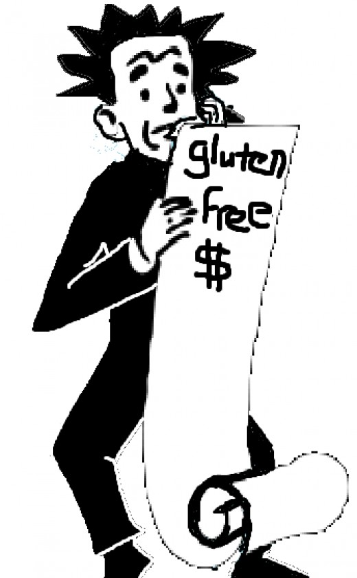 The first Gluten Free grocery bill is always a shock...