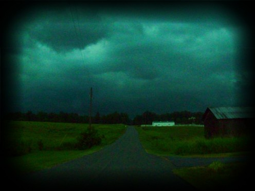 A storm brewing in my neck of the woods!
