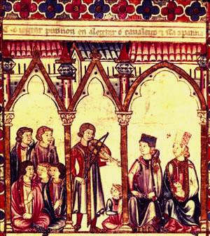 13th century troubadours