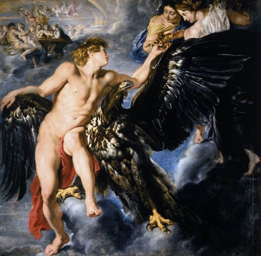 The Abduction of Ganymede, by Peter Paul Rubens