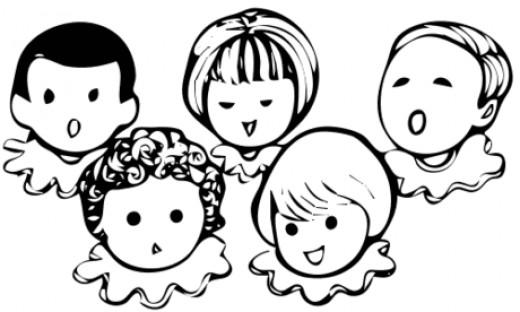 A Children's Choir.