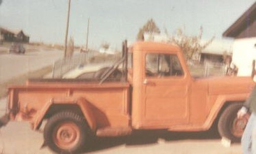 My 1955 Willys Jeep Pick Up