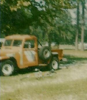 My Willys Jeep in Restoration