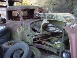 The Old Orange Jeep No Longer Remains