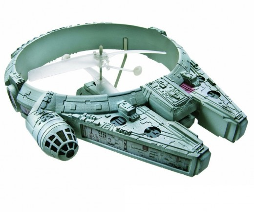star wars toy picture of the millennium falcon rc