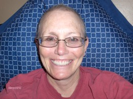 "Smile when you are hairless: it makes people wonder what you've been up to.  It also helps people cope with your pain  ""ALWAYS WEAR EARRINGS WHEN YOU ARE HAIRLESS"""