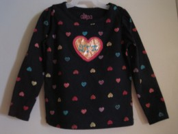 A tiny cutie-pie tee shirt painted for a very special little girl.