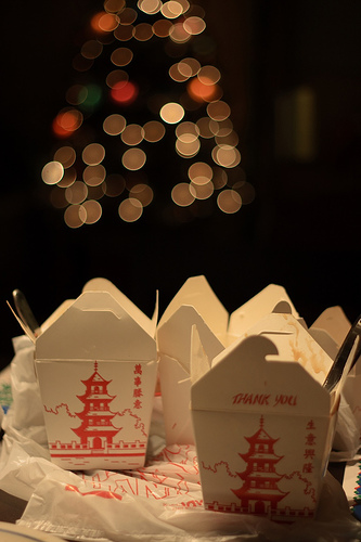 Jews eat Chinese food on Christmas; Image source: http://farm1.static.flickr.com/