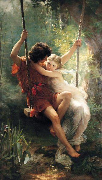 The Springtime, Pierre Auguste Cot