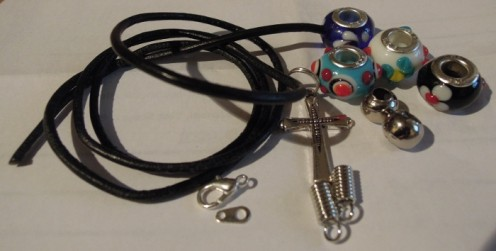 Materials - Pandora style bracelet