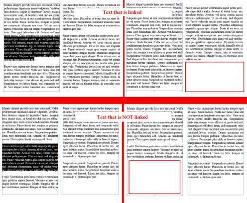 Removing just one paragraph can make a designer layout a publication multiple times if using separate text boxes that are not linked