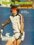 SPORTS ILLUSTRATED WHEN JOHN MCENROE WAS A TENNIS GREAT.