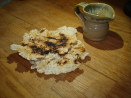 homemade flaxseed tortillas