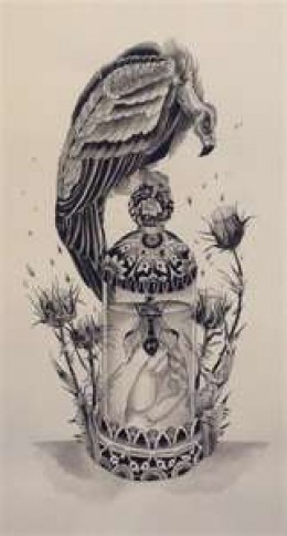 Vulture tattoos and vulture tattoo meaning hubpages for Vulture tattoo meaning