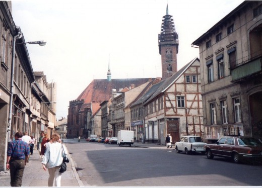 Stendal, Germany, Near the Marktplatz