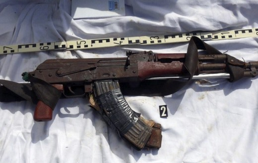 The 'weapon of choice' for Somali pirates seems to be Kalashnikov assault rifles like this that are outdated but deadly