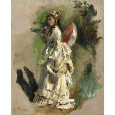 Jeune Femme a L'Ombrelle
