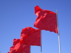 Scams often raise red flags.