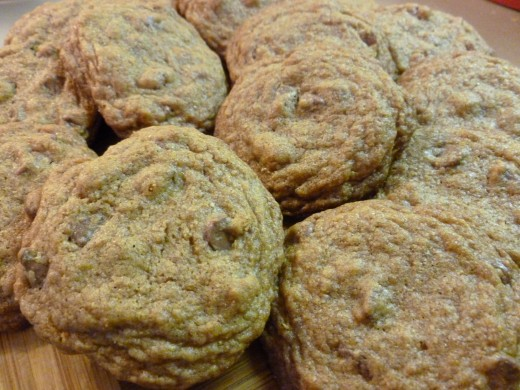 made with brown sugar and whole wheat or spelt flour