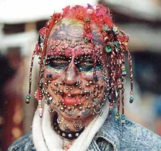 Crazy Body Piercing