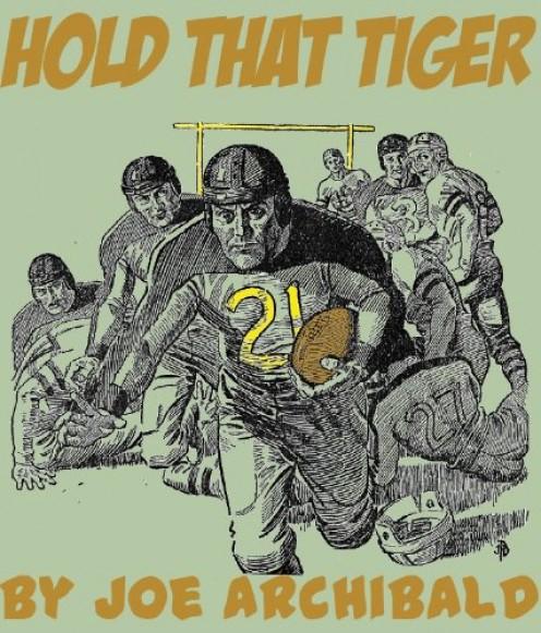 Another juvenile novel about football, by Joe Archibald