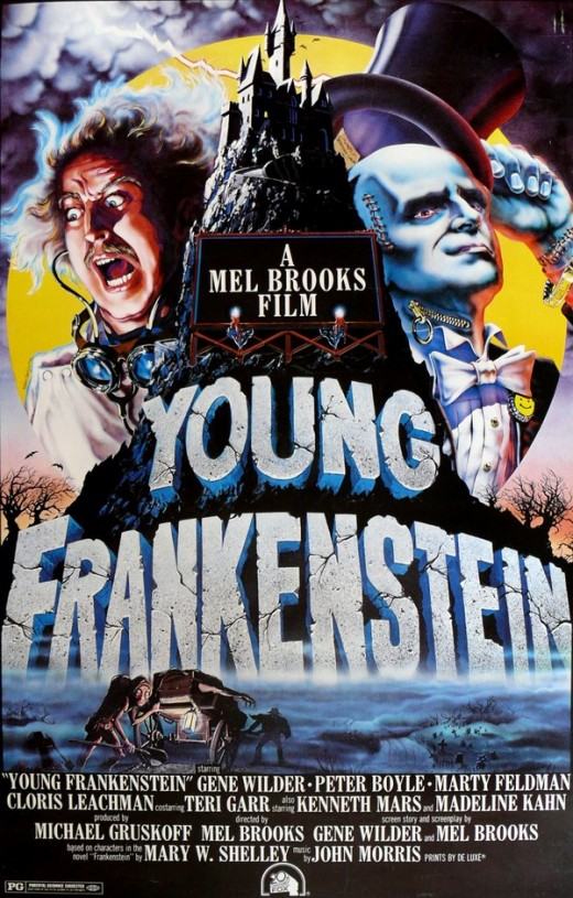 Young Frankenstein - art by John Alvin
