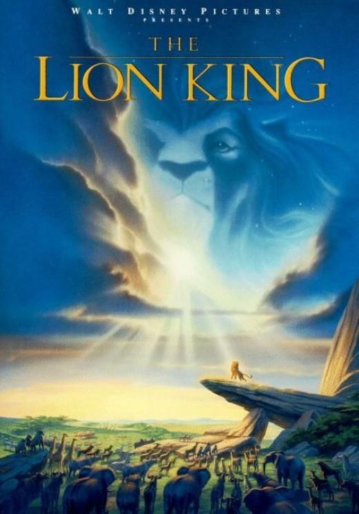 The Lion King - art by John Alvin