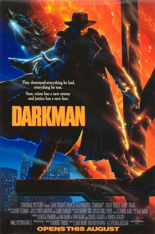 Darkman - art by John Alvin