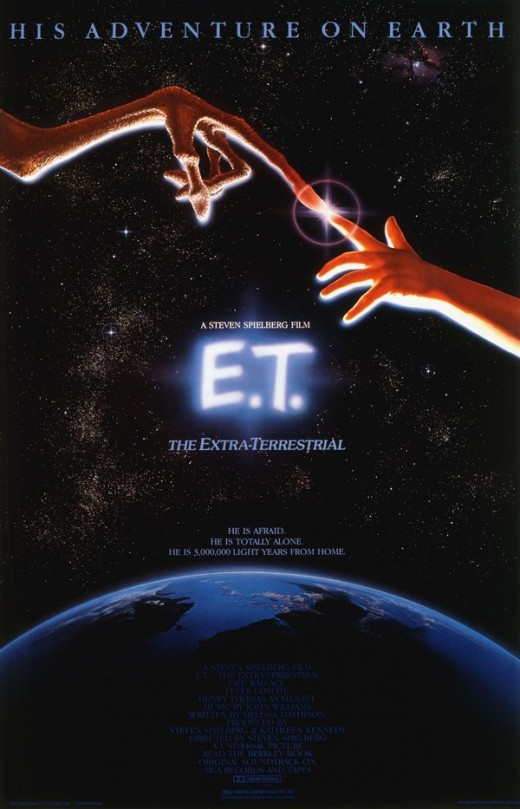 ET the Extraterrestrial - art by John Alvin