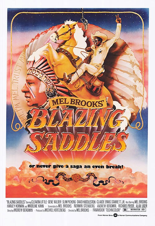 Blazing Saddles - art by John Alvin