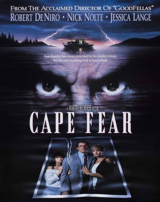 Cape Fear (1991) - art by John Alvin
