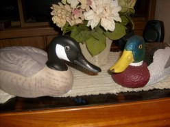 Create Inexpensive Art for Your Home With Used Duck Decoys and Go Green!