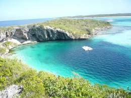 Dean's Blue Hole in the Bahamas