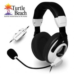 The Turtle Beach X11 headset can be connected to either a PC or Xbox 360.