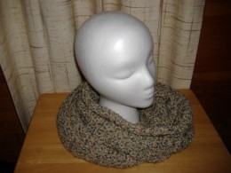 This cowl will wrap around your neck twice and keep you warm and toasty.